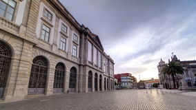 Natural History Museum of Porto University stock footage