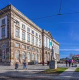 Natural History Museum of Porto University building Royalty Free Stock Photo