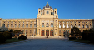 Natural History Museum, Vienna. Stock Photography