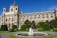 Natural History Museum in Vienna Stock Images