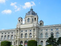 Natural history museum, Vienna, Austria stock image