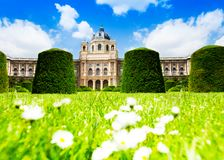 Natural history museum in Vienna Stock Image