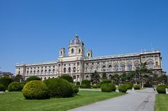 Natural History (Naturhistorisches) Museum of Vienna (1889). Main building of Museum of Natural History of Vienna (Naturhistorisches Museum Wien, former Imperial Stock Photography