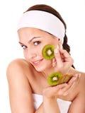 Natural homemade fruit  facial masks . Royalty Free Stock Photo