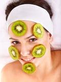 Natural homemade fruit  facial masks . Stock Image