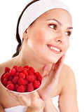 Natural homemade fruit  facial masks . Stock Photography