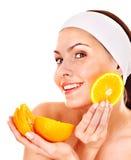 Natural homemade fruit  facial masks . Stock Photography