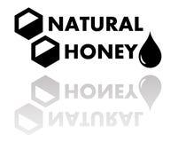 Natural honey symbol Royalty Free Stock Photography