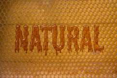 Natural Honey Stock Photo