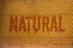 Natural Honey Stock Photo