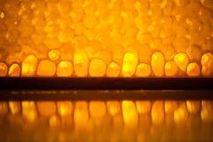 Natural honeycomb texture Royalty Free Stock Image