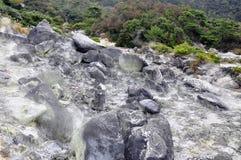 Natural hot spring Royalty Free Stock Photo