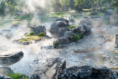 Natural hot spring in Jae Sawn National Park Royalty Free Stock Images