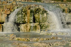 Natural Hot Spring in the Province of Grosseto Stock Image