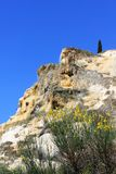 Natural Hot springof Bagno Vignoni in Italy Stock Photography
