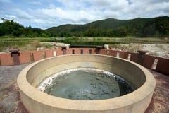 Natural hot springs. Stock Photo