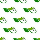 Natural House cleaning seamless pattern background Royalty Free Stock Image