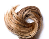 Natural human hair Royalty Free Stock Image