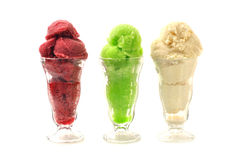 Natural ice cream Royalty Free Stock Images
