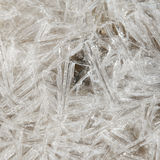 Natural Ice crystal background Royalty Free Stock Images