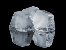 Natural ice cubes Royalty Free Stock Photo