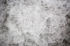 Natural ice texture. Royalty Free Stock Photography