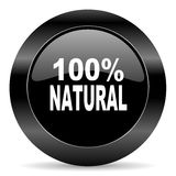 Natural icon Royalty Free Stock Photos