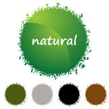 Natural Icon Set Royalty Free Stock Images