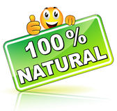 Natural icon Stock Photos