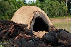 Natural incinerator Royalty Free Stock Photos