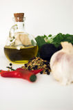 Natural ingredients. Food ingredients Stock Photos