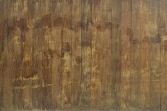 Natural interior with wood wall panels Stock Images
