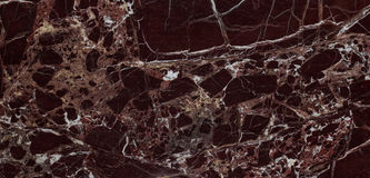 Natural Italian Rosso Levanto marble texture Royalty Free Stock Photos