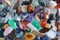 Natural jewels stock photos