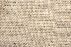 Natural jute cloth Stock Image