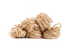 Jute Rope Twine Stock Photography