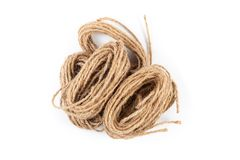 Jute Rope Twine Royalty Free Stock Photo