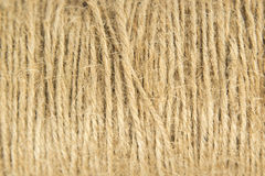 The natural jute twine string Stock Photography