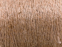 Natural jute twine texture Stock Photography