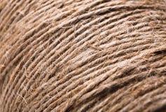 Natural jute twine texture Stock Photo
