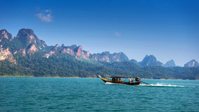 Natural lake on thailand Stock Photo