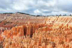 Natural landmark Bryce Canyon National Park in Utah, USA Royalty Free Stock Photos