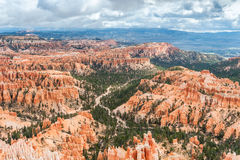 Natural landmark Bryce Canyon National Park in Utah, USA Stock Photo