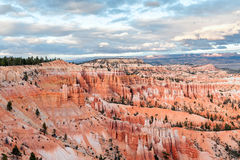 Natural landmark Bryce Canyon National Park in Utah, USA Royalty Free Stock Images