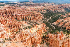 Natural landmark Bryce Canyon National Park in Utah, USA Royalty Free Stock Photo