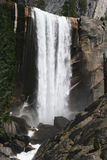 Natural Landmark Destination Vernal Falls Royalty Free Stock Photography