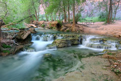 Natural landmark Havasupai Stock Photos