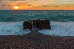 Natural landscape of Abkhazia Stock Images