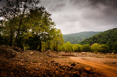 Natural Landscape Caught By The Storm Stock Images