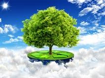 Natural landscape. ecological concept Stock Images